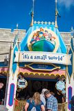 `It`s a small world` ride at the Magic Kingdom, Walt Disney World. Orlando, Florida: December 2, 2017: `It`s a small world` ride at the Magic Kingdom, Walt Royalty Free Stock Photo