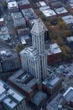 ` S Smith Tower de Seattle photos stock