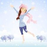 It's snowing Stock Image