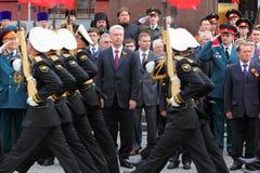 S.Sobyanin, Zustand-Dumaabgeordnete und Veterane Stockfoto
