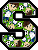 S is for Soccer Stock Images
