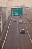 S17 speedway near to Lublin, Poland Royalty Free Stock Photo
