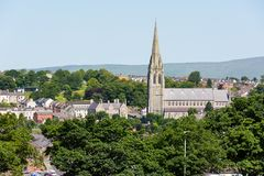 ` S St. Eugene Kathedrale, Derry, Nordirland lizenzfreie stockbilder