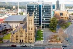 ` S St. Francis Xavier katholische Kathedrale in Adelaide Stockfoto