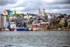 ` S St. John, Ньюфаундленд, Канада, стоковое изображение
