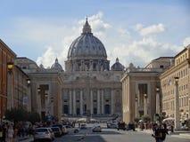 ` S St Peter базилики в Риме, Италии Стоковые Фотографии RF