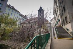 ` S St. Rupert Kirche in Wien, Österreich Lizenzfreie Stockbilder