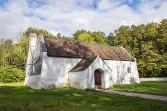` S St. Teilo Kirche, St. Fagans, Wales Lizenzfreies Stockbild