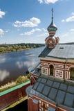 人` s圣尼古拉斯修道院在Staraya拉多加 俄国 免版税库存图片