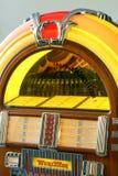 1950's style Juke Box. Real Wurlitzer 1950's style Juke Box stock image