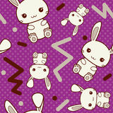 80's styled Easter Pattern Stock Image