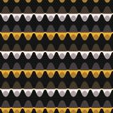 1960s stylu kropki lampasa wektoru Bezszwowy wzór royalty ilustracja