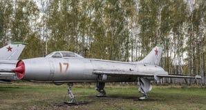 S-26 (su-7L) - Experimentele vliegtuigen (1963) Stock Foto's