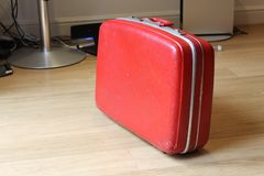 1970s suit case Stock Images