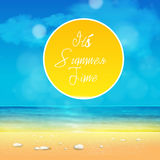 It's Summer Time Royalty Free Stock Photos
