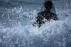s surfować, Zdjęcie Royalty Free