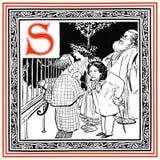 S for Swinburne Stock Image