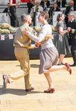 1940's swing dancing Stock Photography