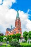 S: t Johannes kerk Zijaanzicht Stock Afbeelding
