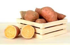 s?t potatis arkivfoton