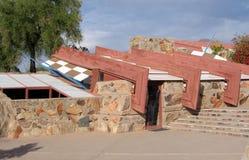` S Taliesin западный Scottsdale Фрэнк Ллойд Райт, Аризона Стоковые Изображения