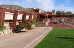 ` S Taliesin West Scottsdale, Arizona de Frank Lloyd Wright Imagenes de archivo
