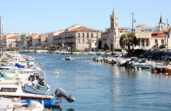 Sète Royalty Free Stock Images