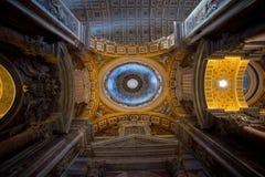 S. techo de Pietro Basilica - imagen común Imagenes de archivo