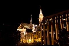 ¡ S Templom tyà ¡ Mà - церковь Matthias, Будапешт Стоковая Фотография RF