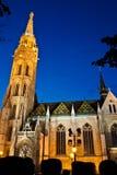 ¡ S Templom tyà ¡ Mà - церковь Matthias, Будапешт Стоковые Фотографии RF
