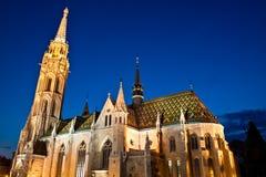 ¡ S Templom tyà ¡ Mà - церковь Matthias, Будапешт Стоковые Фото