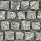 S033 textura sem emenda - pavers da pedra Fotografia de Stock Royalty Free