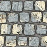 S034 textura sem emenda - pavers da pedra Imagens de Stock