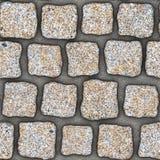 S039 textura sem emenda - pavers da pedra Fotografia de Stock Royalty Free