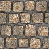 S035 textura sem emenda - pavers da pedra Fotografia de Stock Royalty Free