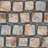 S036 textura sem emenda - pavers da pedra Foto de Stock Royalty Free