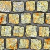 S044 textura sem emenda - pavers da pedra Imagem de Stock Royalty Free