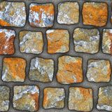 S045 textura sem emenda - pavers da pedra Foto de Stock Royalty Free