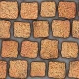 S041 textura sem emenda - pavers da pedra Fotos de Stock