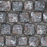 S040 textura sem emenda - pavers da pedra Foto de Stock Royalty Free
