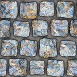 S038 textura sem emenda - pavers da pedra Imagem de Stock