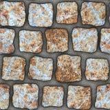 S050 textura sem emenda - pavers da pedra Fotografia de Stock Royalty Free