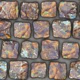 S043 textura sem emenda - pavers da pedra Fotografia de Stock Royalty Free