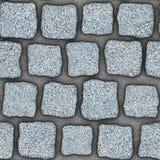 S037 textura sem emenda - pavers da pedra Imagem de Stock Royalty Free