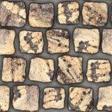 S049 textura sem emenda - pavers da pedra Fotografia de Stock