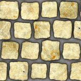 S032 textura sem emenda - pavers da pedra Foto de Stock Royalty Free
