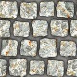 S047 textura sem emenda - pavers da pedra Foto de Stock