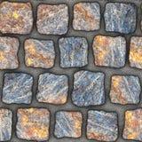 S042 textura sem emenda - pavers da pedra Imagens de Stock