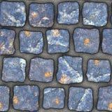 S053 textura sem emenda - pavers da pedra Imagem de Stock
