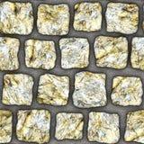 S105 textura sem emenda - pavers da pedra Fotos de Stock Royalty Free